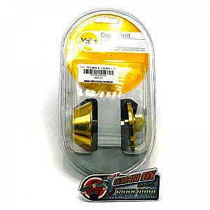 YALE-普通匙- 附加鎖 -金色
