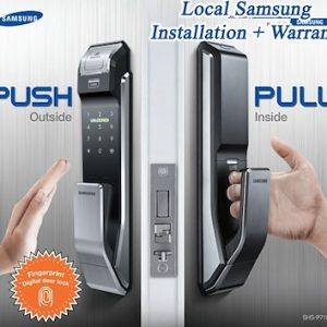 韓國 SAMSUNG 電子鎖